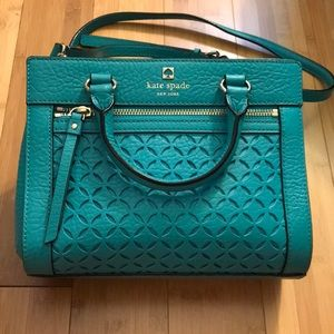 Kate Spade Perri Lane Mini Romy Crossbody Blue